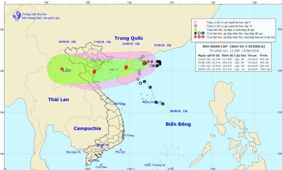 Ngành giáo dục triển khai các biện pháp phòng chống bão số 4