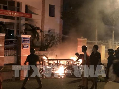 Khởi tố thêm 17 bị can trong vụ gây rối tại tỉnh Bình Thuận