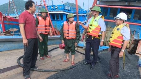Huyện Cát Hải (Hải Phòng) chủ động phòng chống bão số 4