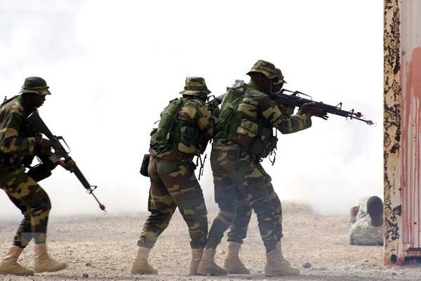 Các nước Đông Phi, Mỹ, Liên minh châu Âu tập trận chung ở Rwanda