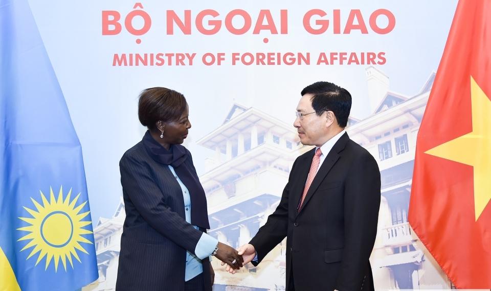 Việt Nam luôn coi trọng việc củng cố và phát triển quan hệ hữu nghị với Ru-an-đa