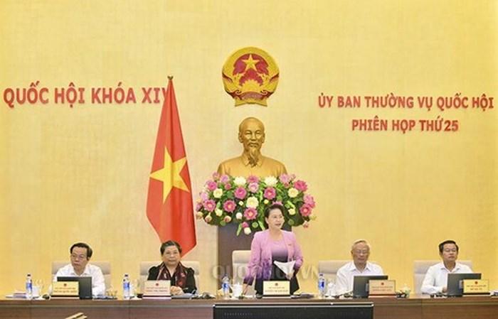 Phân công chuẩn bị nội dung họp Ủy ban Thường vụ Quốc hội