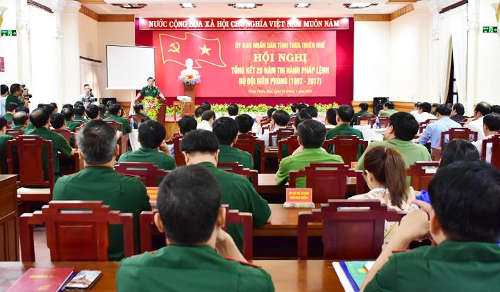 Thừa Thiên Huế: 20 năm thi hành Pháp lệnh Bộ đội Biên phòng