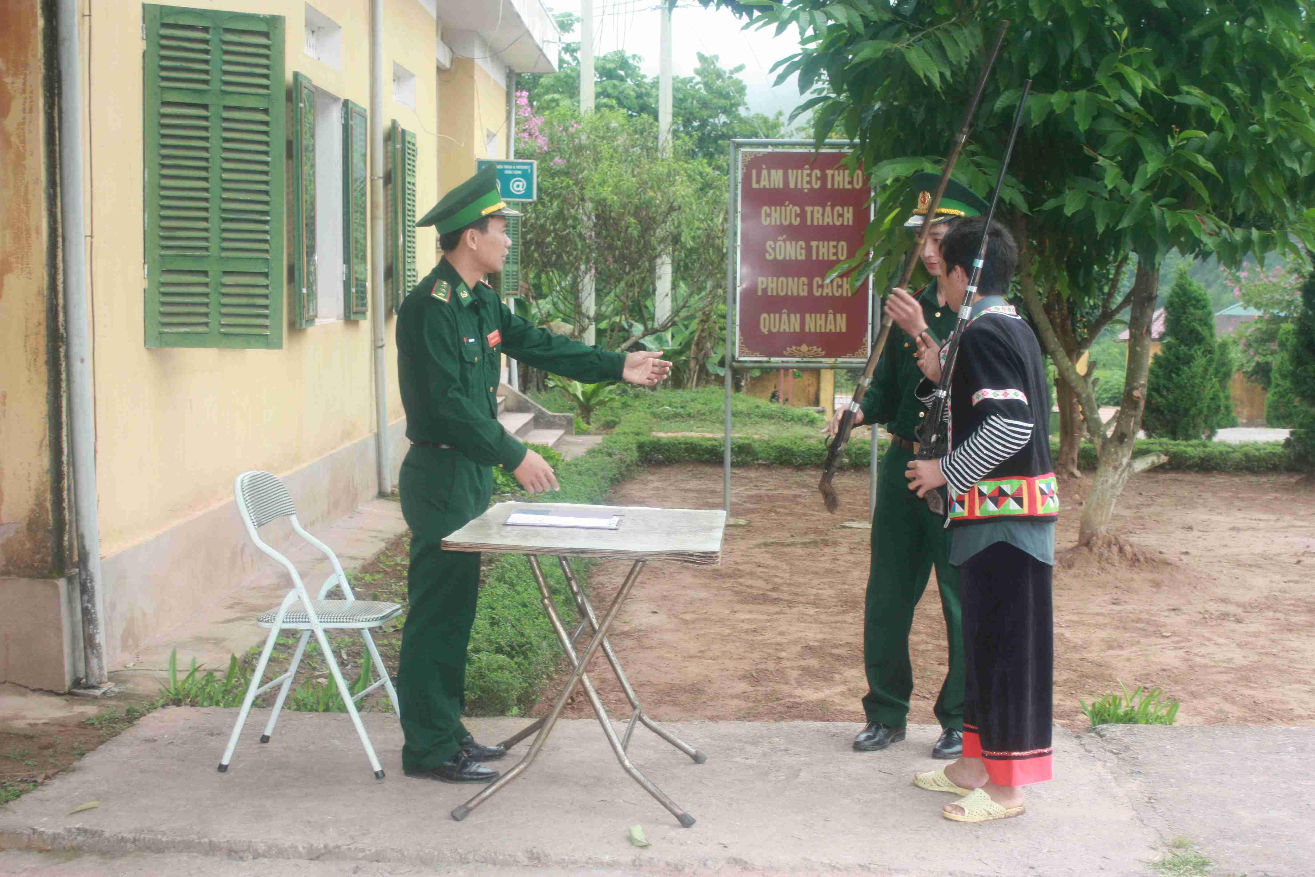 Nậm Pồ (Điện Biên): Nỗ lực quản lý, thu hồi vũ khí, vật liệu nổ