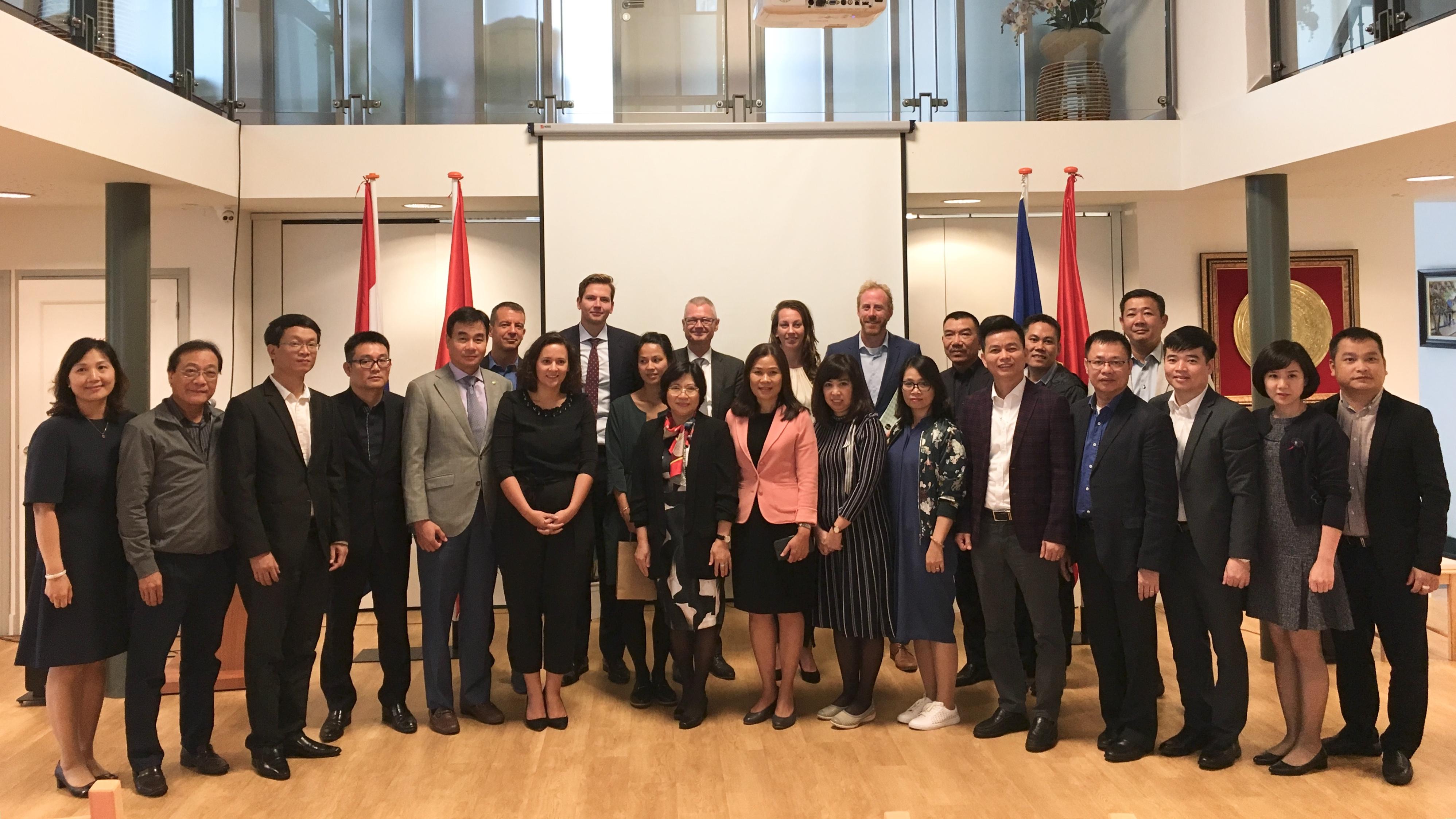 Việt Nam tham dự Hội thảo Mô hình Thành phố Thông minh của Hà Lan