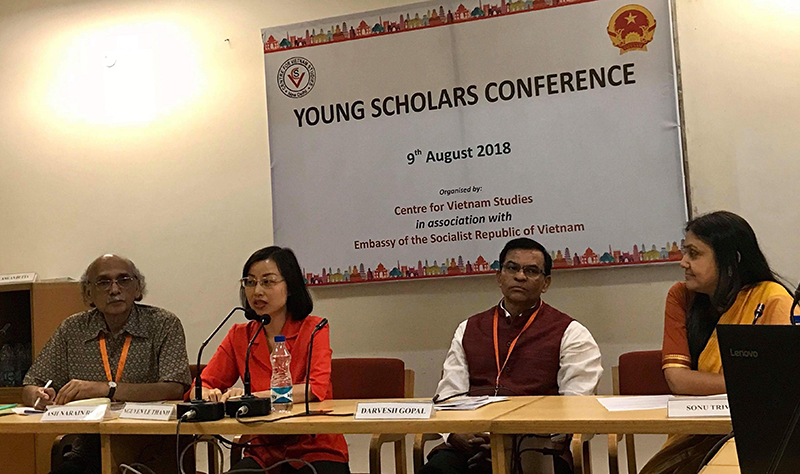 Tăng cường hợp tác giữa học giả trẻ hai nước Việt Nam - Ấn Độ