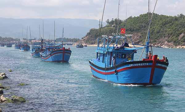 Theo dõi, quản lý chặt chẽ việc ra khơi của tàu thuyền đang hoạt động trên biển