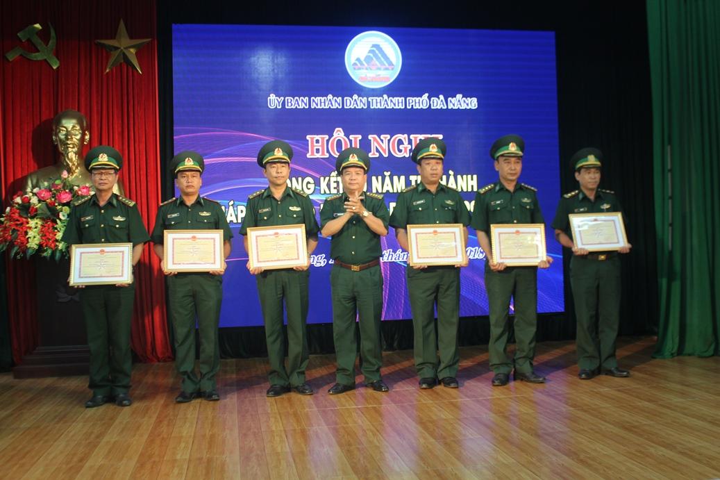 Đà Nẵng tổng kết 20 năm thi hành Pháp lệnh Bộ đội Biên phòng