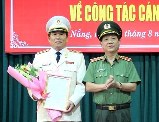 Thiếu tướng Vũ Xuân Viên giữ chức vụ Giám đốc Công an TP.Đà Nẵng