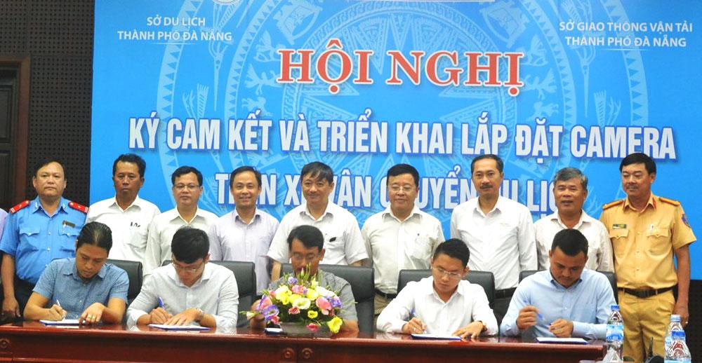 40 đơn vị lữ hành tại Đà Nẵng cam kết lắp camera trên xe du lịch
