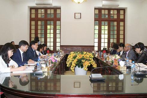 Thúc đẩy hợp tác giữa Tòa án nhân dân tối cao và UNICEF