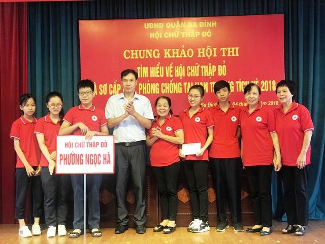 Ba Đình (Hà Nội): Chung khảo Hội thi Sơ cấp cứu và phòng chống tai nạn thương tích 2018