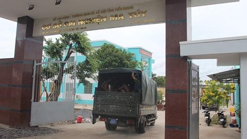 Tiền Giang: phần lớn học viên bỏ trốn đã trở lại cơ sở cai nghiện ma túy