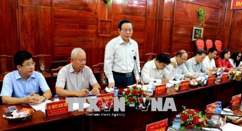 Phó Chủ tịch Quốc hội Phùng Quốc Hiển: Bình Phước cần đẩy mạnh công tác cải cách hành chính