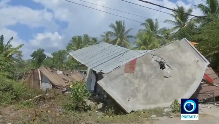 Indonesia tiếp tục hứng chịu trận động đất mạnh 6,2 độ richter