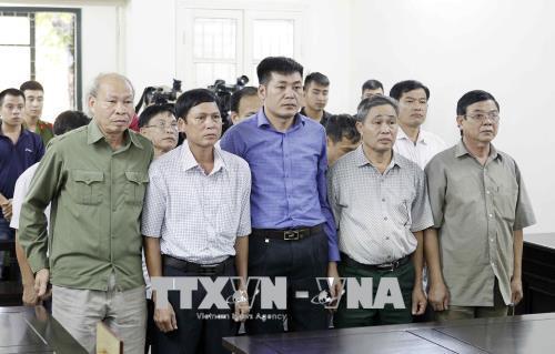 Giảm án cho 9 bị cáo trong vụ vi phạm trong quản lý đất đai ở Đồng Tâm (Hà Nội)
