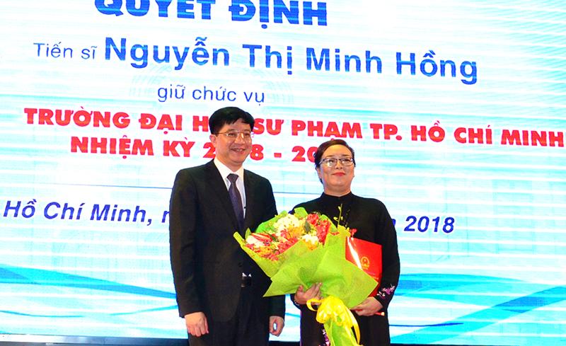 Trường Đại học Sư phạm TP Hồ Chí Minh có nữ hiệu trưởng đầu tiên