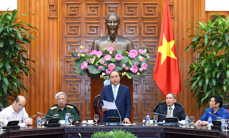 Thủ tướng gặp mặt Trung ương Hội Nạn nhân chất độc da cam/dioxin Việt Nam
