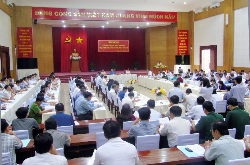 Kiên Giang: Triển khai thực hiện các Nghị quyết Trung ương 7 khóa XII  
