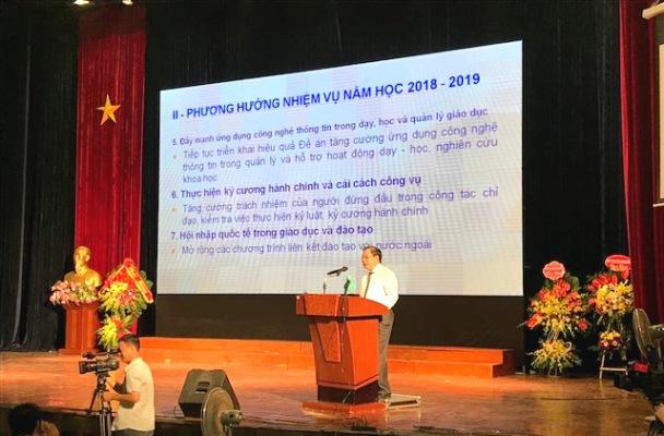 Năm học 2017 - 2018 đánh dấu nhiều chuyển biến tích cực của ngành Giáo dục Thủ đô