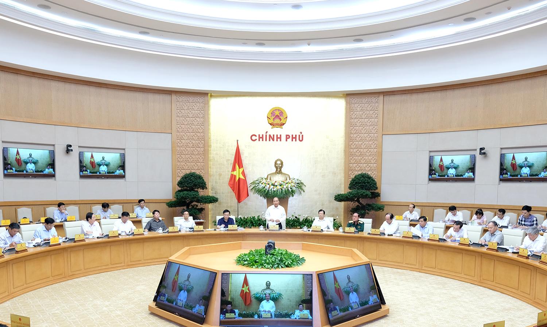 Chính phủ họp phiên chuyên đề về công tác xây dựng pháp luật