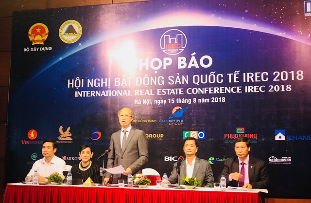 Lần đầu tiên Việt Nam đăng cai tổ chức Hội nghị bất động sản quốc tế IREC 2018