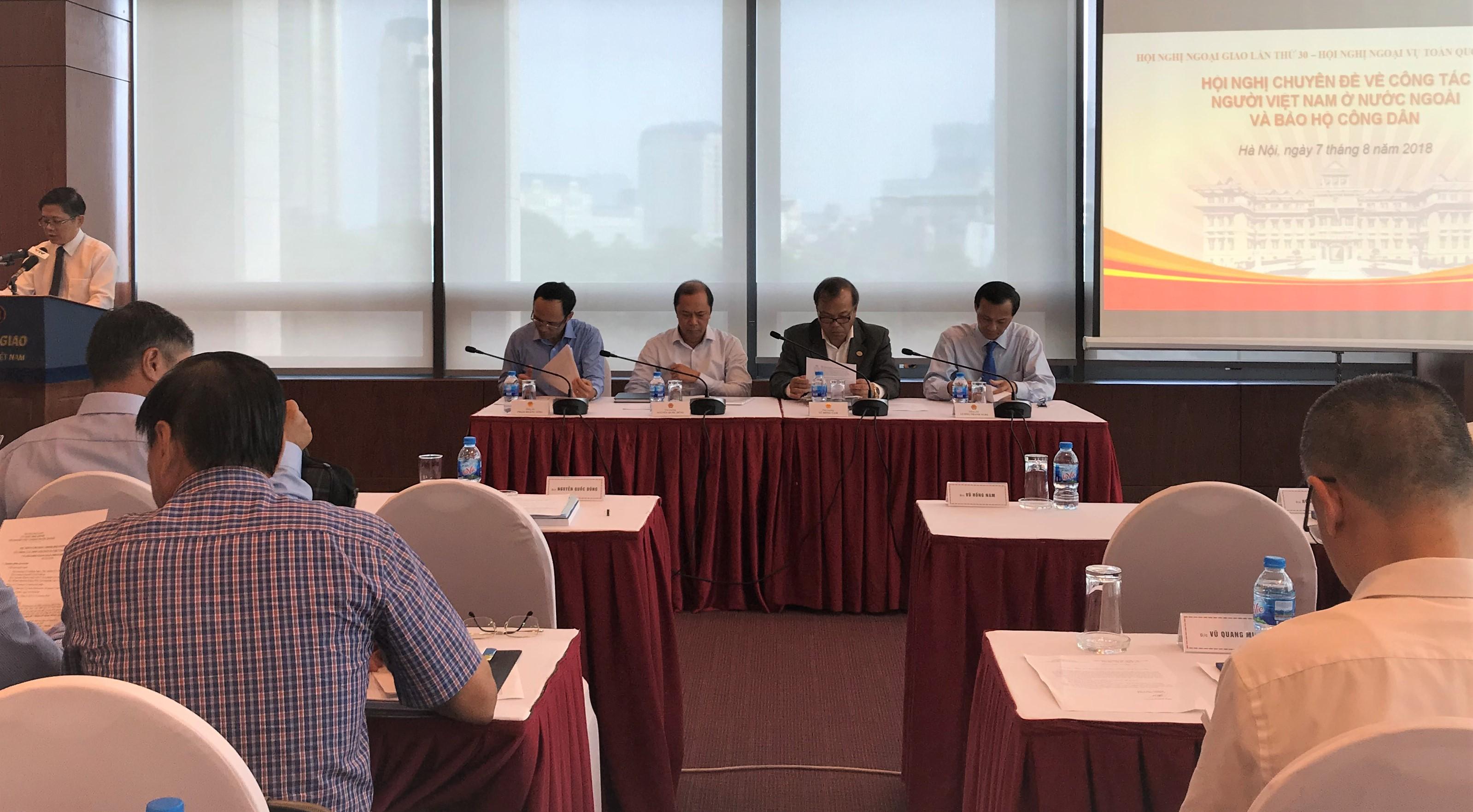 Nâng cao hiệu quả công tác về người Việt Nam ở nước ngoài và bảo hộ công dân
