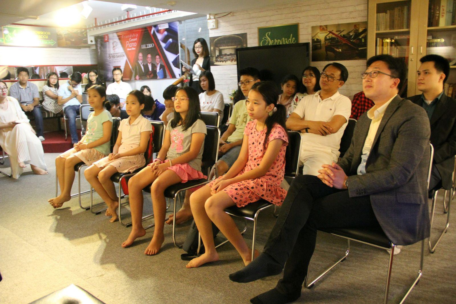 MASTER CLASS – LEE TRIO: Lĩnh hội tri thức và nghệ thuật quốc tế