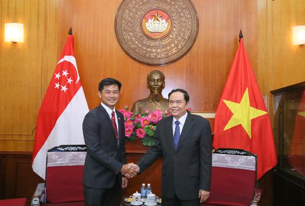 Tăng cường quan hệ hữu nghị, hợp tác Việt Nam - Singapore