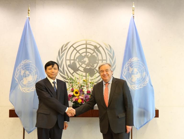 Việt Nam chủ động, tích cực tham gia nhiều lĩnh vực hoạt động của Liên hợp quốc