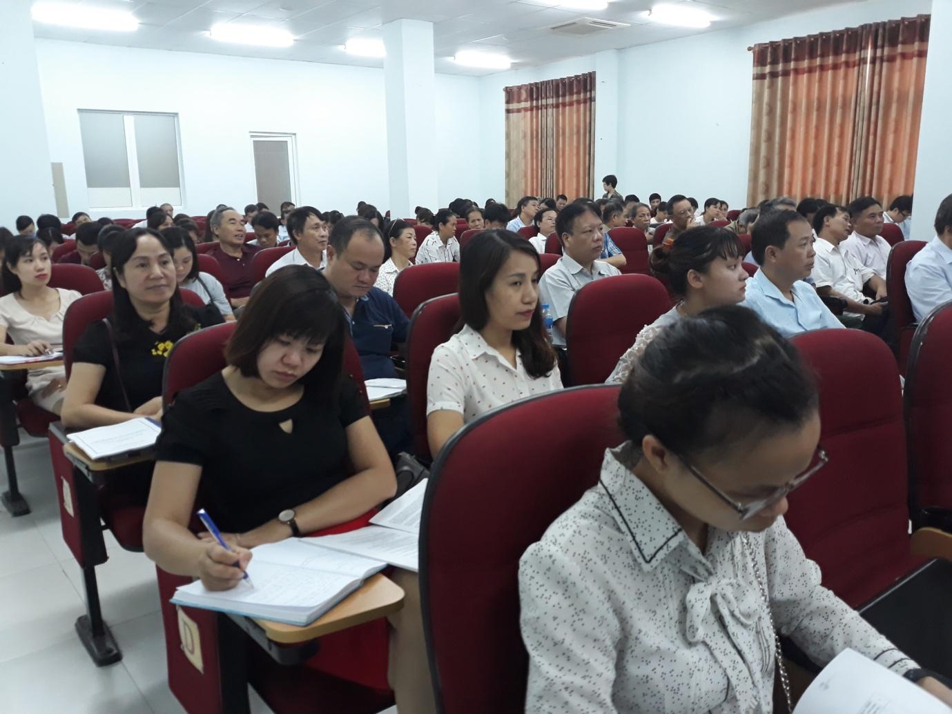 Bắc Từ Liêm, Hà Nội: Tập huấn nghiệp vụ quản lý nhà nước về an toàn thực phẩm