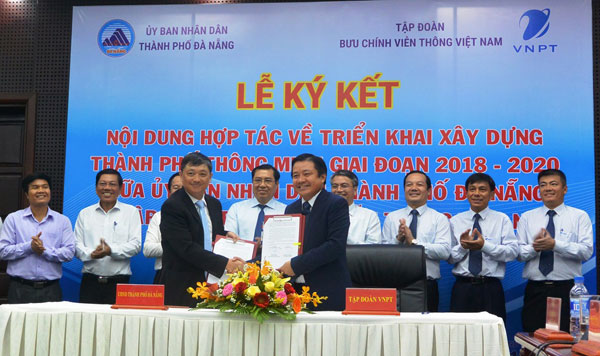 VNPT và Đà Nẵng hợp tác xây dựng thành phố thông minh