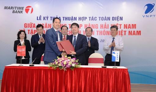 VNPT và Maritime Bank hợp tác phát triển hoạt động kinh doanh