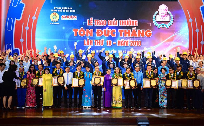 Vinh danh 11 kỹ sư, công nhân xuất sắc nhận giải thưởng Tôn Đức Thắng