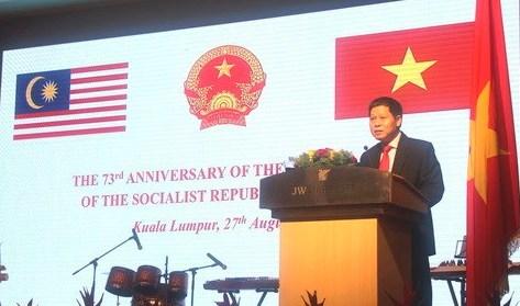 Kỷ niệm 73 năm Quốc khánh Việt Nam tại Malaysia
