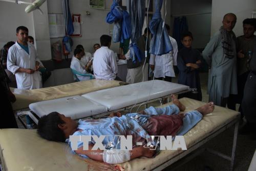 Nổ bom tự chế tại Afghanistan, 13 người thương vong