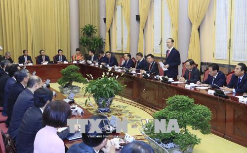 Trao Quyết định của Chủ tịch nước bổ nhiệm Đại sứ nhiệm kỳ 2018 - 2021