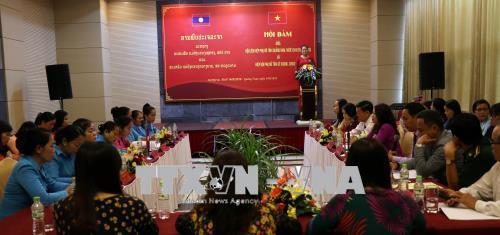 Hội Phụ nữ tỉnh Quảng Nam và SeKong (Lào) hợp tác, chia sẻ kinh nghiệm hoạt động
