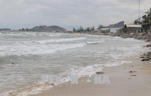 Ninh Thuận: Sóng biển xâm thực sâu, cuộc sống người dân bị ảnh hưởng