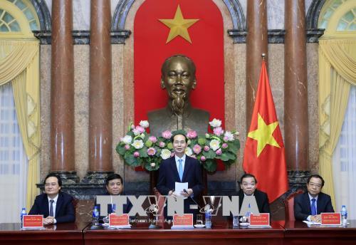 Chủ tịch nước Trần Đại Quang: Tận dụng các thành tựu tiên tiến để phục vụ phát triển kinh tế - xã hội