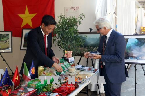 Việt Nam tham gia hội chợ ớt quốc tế tại Italy