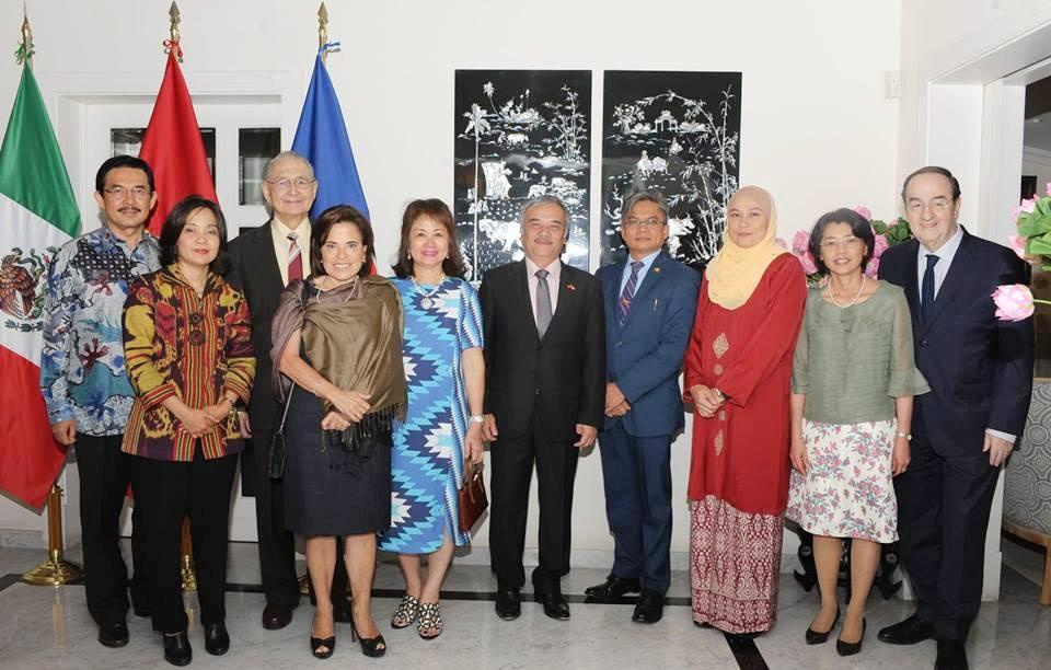 Kỷ niệm 23 năm Việt Nam gia nhập ASEAN tại Mexico
