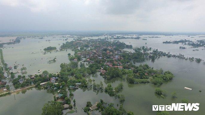 Nguy cơ cao xảy ra lũ trên nhiều hệ thống sông
