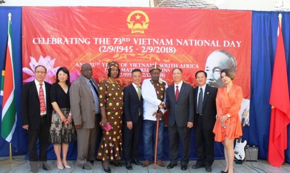 Kỷ niệm 73 năm Quốc khánh 2/9 và 25 năm thiết lập quan hệ ngoại giao Việt Nam – Nam Phi