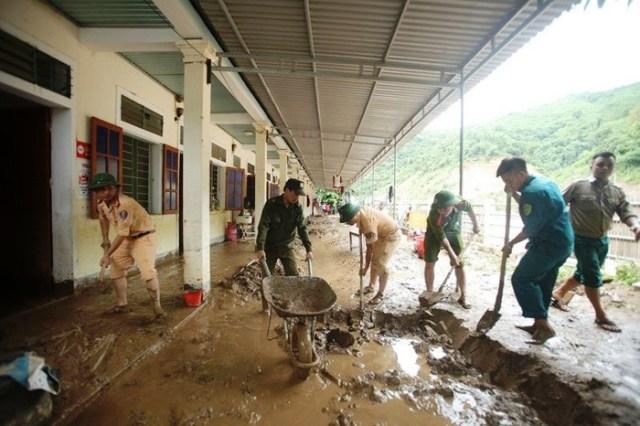 Tập trung khắc phục thiệt hại do mưa lũ gây ra tại huyện Kỳ Sơn