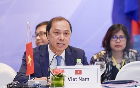 Việt Nam tích cực ủng hộ và tham gia thúc đẩy các lĩnh vực hợp tác ưu tiên của ASEAN+3 và EAS