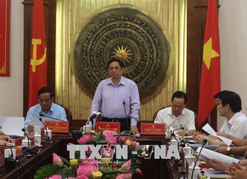 Đồng chí Phạm Minh Chính: Thanh Hóa cần khai thác, sử dụng hiệu quả nguồn lực con người