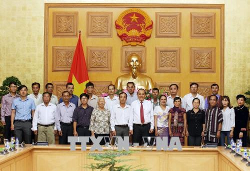 Phó Thủ tướng Trương Hòa Bình: Phát huy vai trò của người có uy tín trong đồng bào dân tộc thiểu số