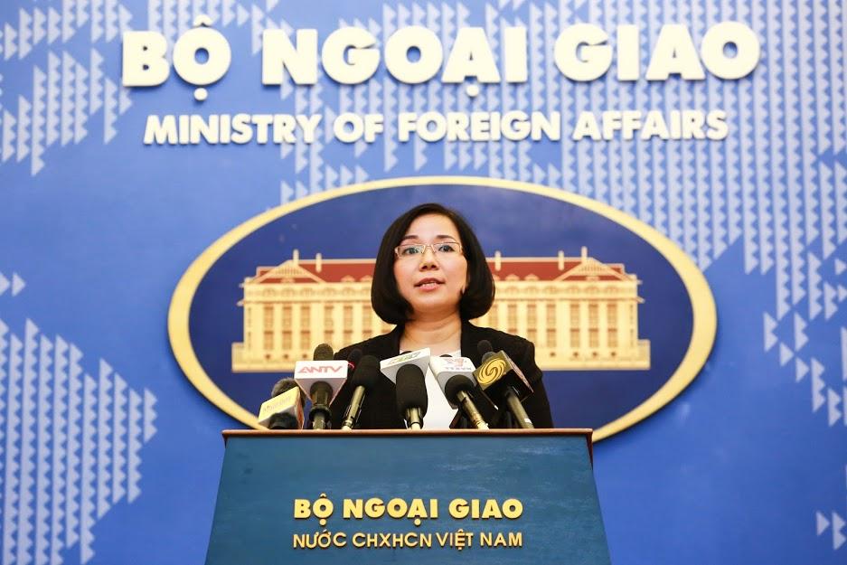 Việt Nam phản đối Đài Loan tổ chức diễn tập bắn đạn thật ở đảo Ba Bình