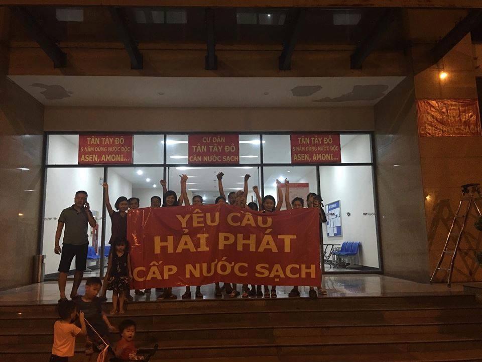 Hà Nội: Sớm cấp nước sạch cho cư dân Khu đô thị Tân Tây Đô